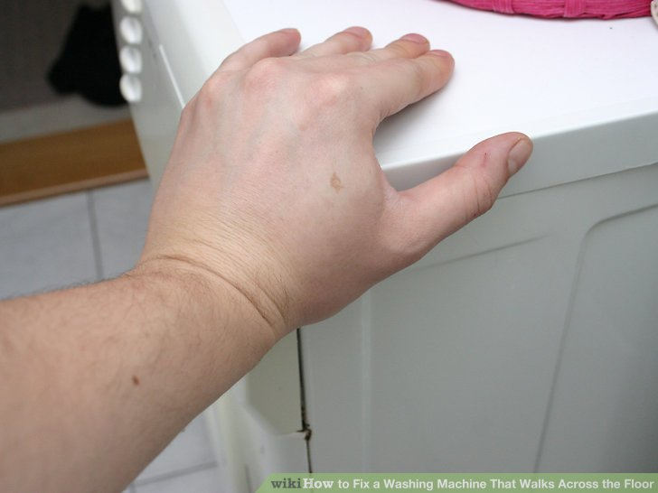 How to Fix a Washing Machine That Walks Across the Floor