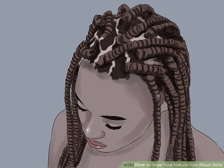4 Ways To Grow Your Natural Hair Black Girls Wikihow