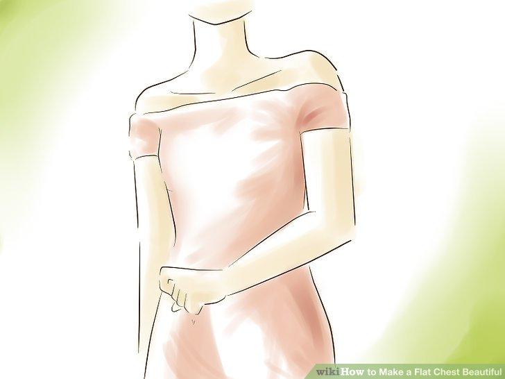 Tragen Sie mehr trägerlose Oberteile und schiere Schultern.