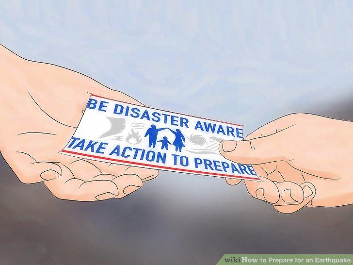 Arbeiten Sie mit Ihrer Gemeinde zusammen, um sich gemeinsam auf Erdbeben vorzubereiten.