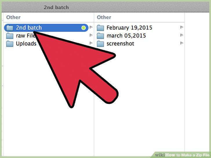 Erstellen Sie eine kennwortgeschützte ZIP-Datei in OS X.