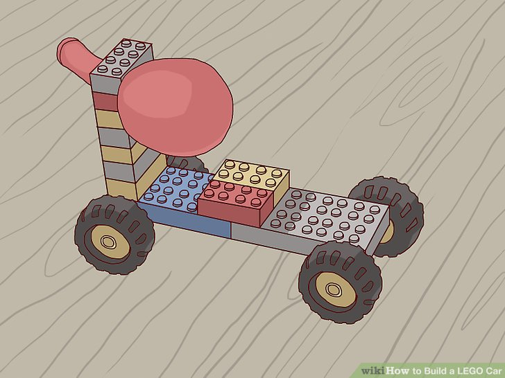 How To? - How to Build a LEGO Car
