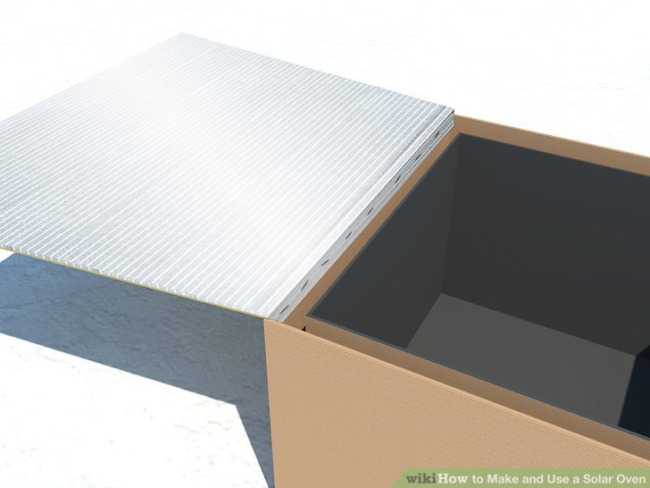 3 Ways to Make and Use a Solar Oven  wikiHow