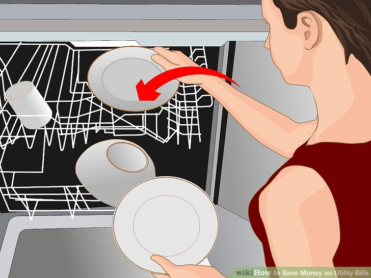 Fill the dishwater when you use it.