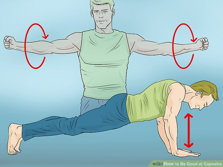 Warm up your arms.