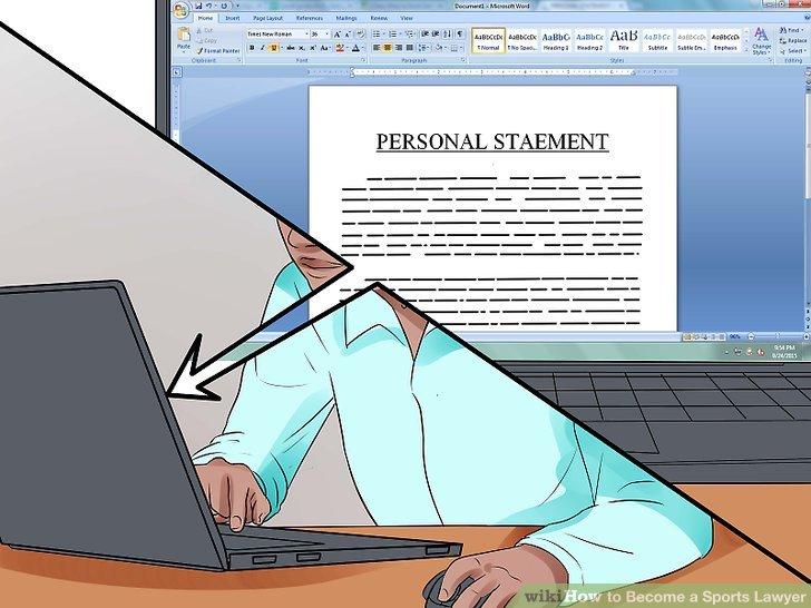 Schreiben Sie Ihre persönliche Erklärung.