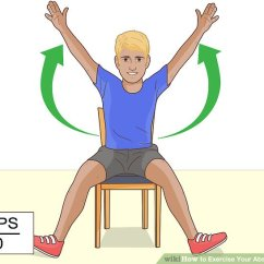 Sitting Down Chair Exercises Colorful Dining Room Chairs 7 Easy Ways To Exercise Your Abs While Wikihow Image Titled Step 6