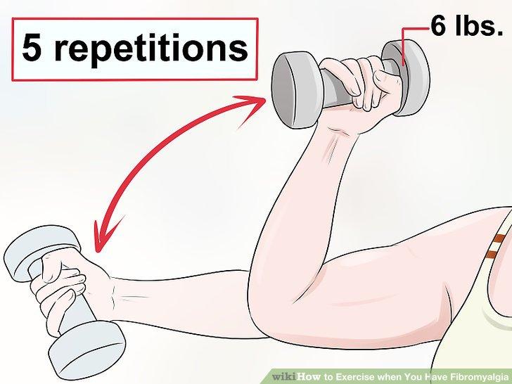 Versuchen Sie weniger Wiederholungen mit einem höheren Gewicht.