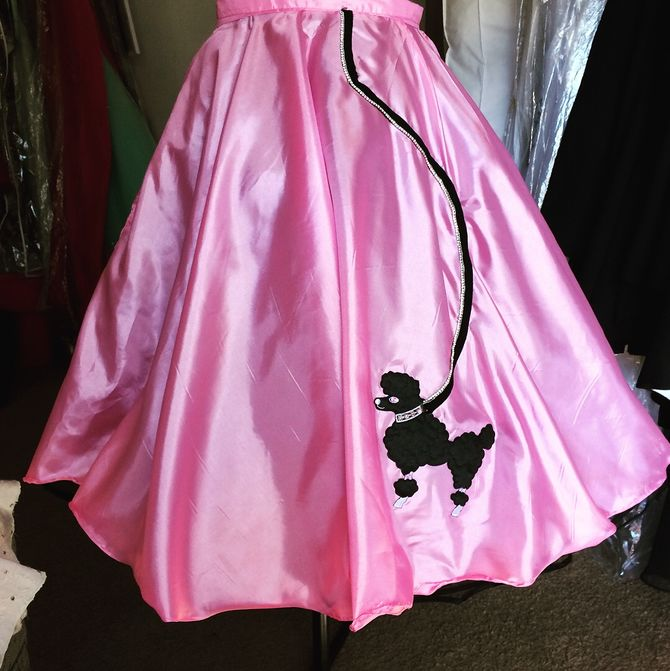 Diy Poodle Skirt No Sew Projects