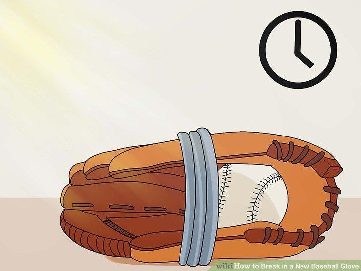 Lassen Sie den Handschuh mit Handschuhen einige Stunden (nicht mehr) in direktem Sonnenlicht liegen.