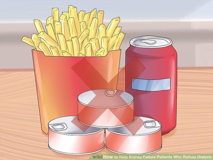 Vermeiden Sie Salze und Zucker.