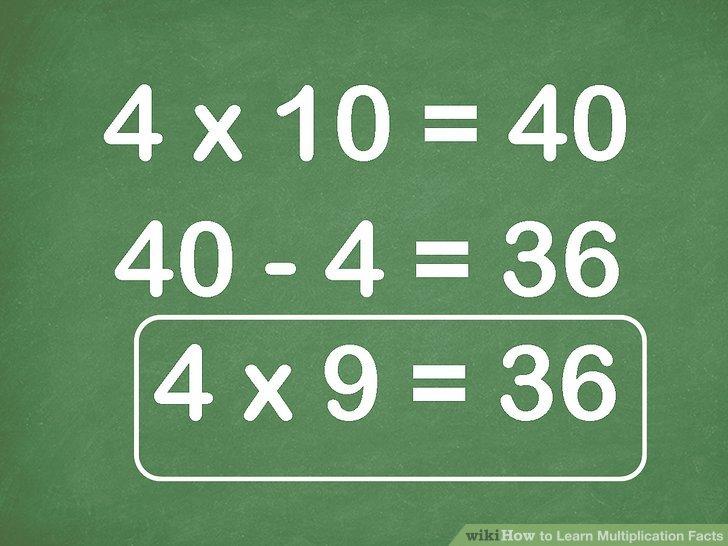Wie ist es gemacht? - Wie Lernt Multiplikation Fakten
