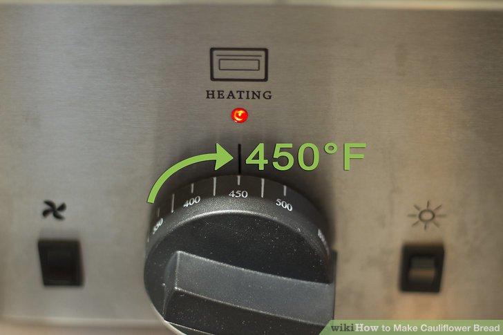 Heizen Sie den Ofen auf 232,22 ° C vor.