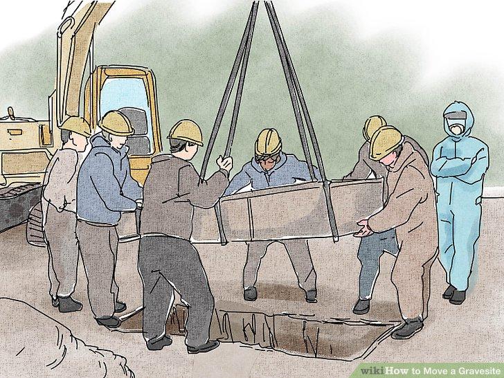 Entscheiden Sie, ob Sie an der Exhumierung teilnehmen werden.
