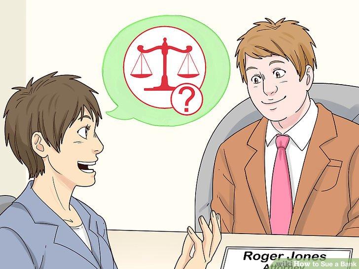 Wenden Sie sich an einen Anwalt oder einen Berater für geringfügige Forderungen.