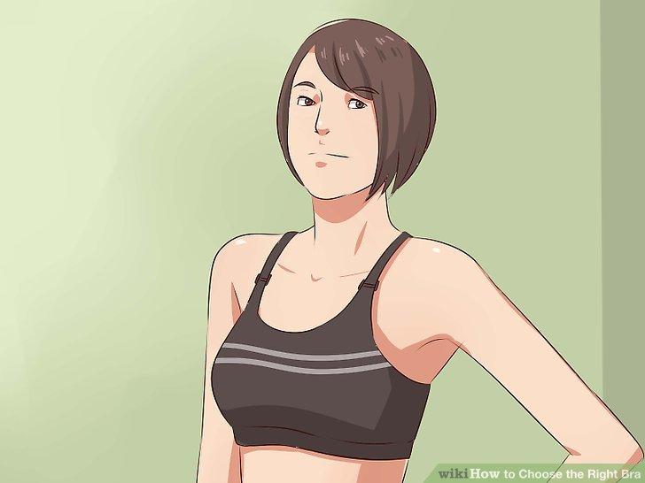 Kaufen Sie einen Sport-BH zum Trainieren.
