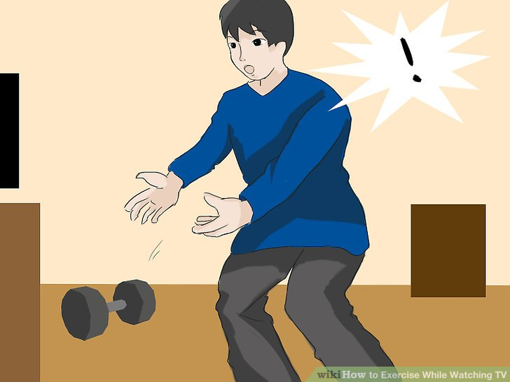 How to Exercise While Watching TV with Sample Exercise Games
