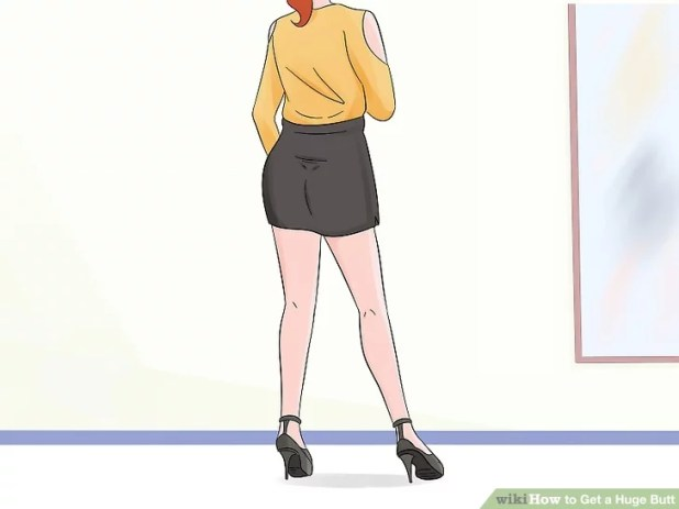ارتدِ التنانير القصيرة ذات الكعب العالي
