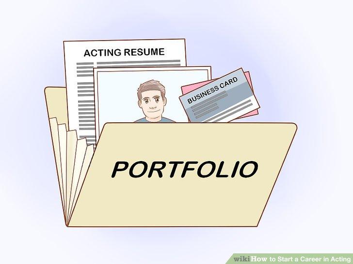 Put together a portfolio.