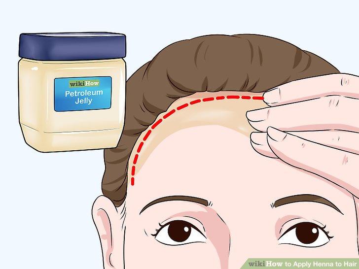 Schützen Sie Ihren Haaransatz mit Öl.