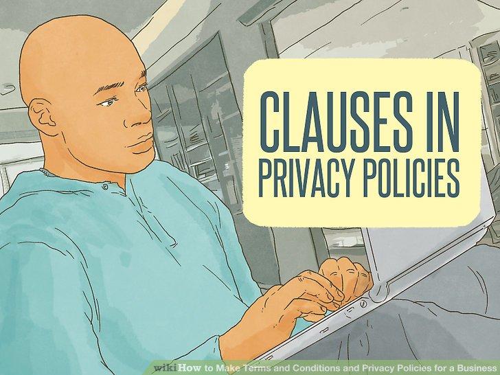 Gizlilik politikalarındaki fıkra türlerini anlayın.