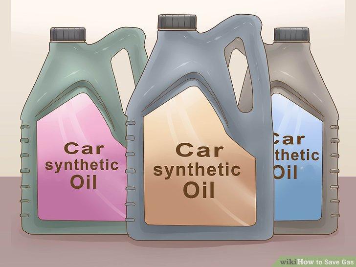 Verwenden Sie synthetisches Öl in Ihrem Auto, um Kraftstoff zu sparen.