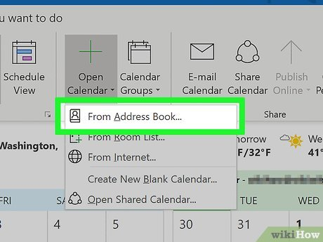 4 Ways To Sync Your Calendar With Outlook On Pc Or Mac Wikihow