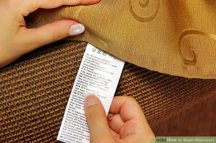How to Wash Slipcovers 7 Steps with Pictures  wikiHow