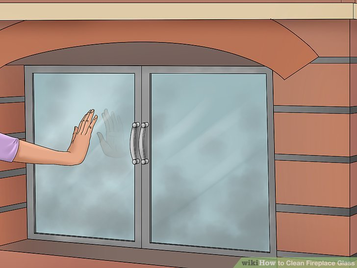 How to Clean Fireplace Glass with Pictures  wikiHow
