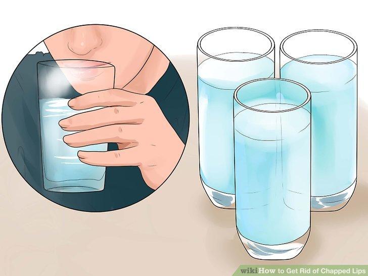 Viel Wasser trinken.