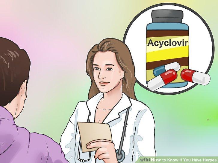 Behandeln Sie Ihre Symptome mit antiviralen Herpes-Medikamenten.