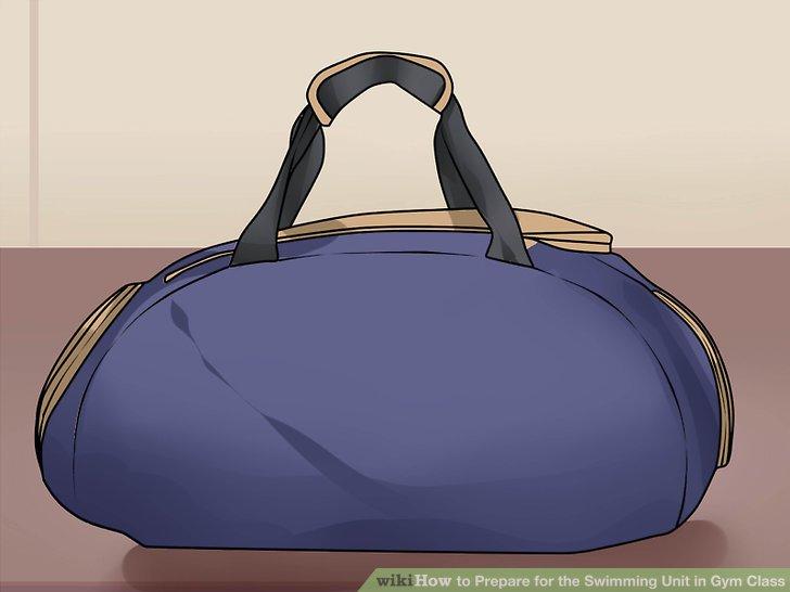 Packen Sie Ihre Sachen in eine Reisetasche.