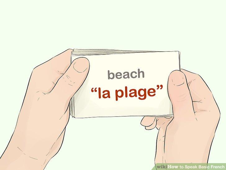Erstellen Sie Lernkarten, um Ihren Wortschatz zu erweitern.