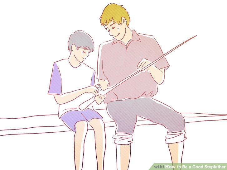 Laden Sie das Stiefkind ein, an Ihren eigenen Aktivitäten teilzunehmen.