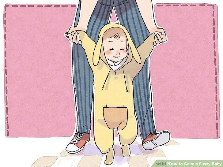 Stellen Sie sicher, dass Ihr Baby nicht durch eine Änderung der Routine gestört wird.