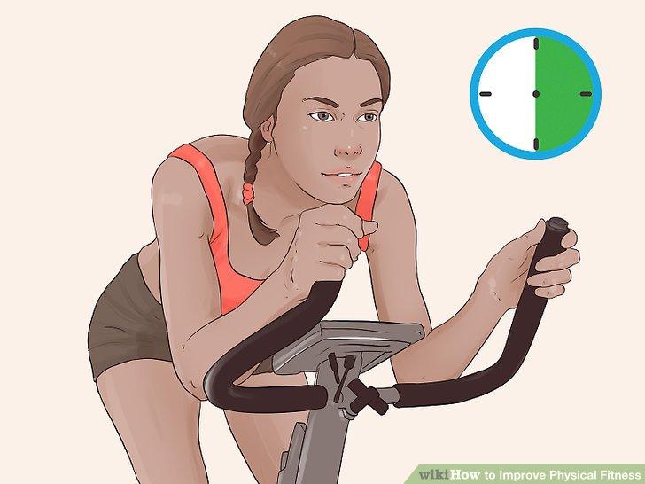 Nehmen Sie an den meisten Tagen 30 Minuten Herz-Kreislauf-Aktivität auf.