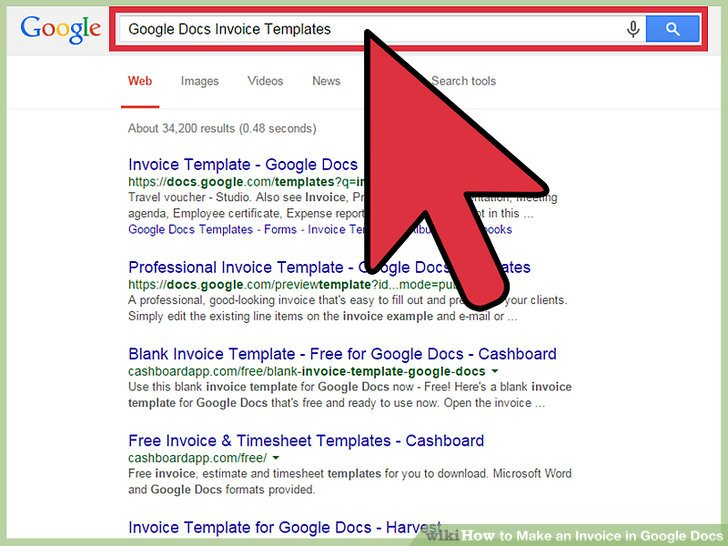 How to Make an Invoice in Google Docs 8 Steps with Pictures