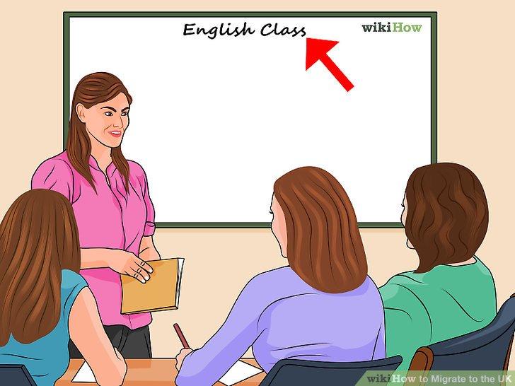 Lerne so viel Englisch wie möglich.