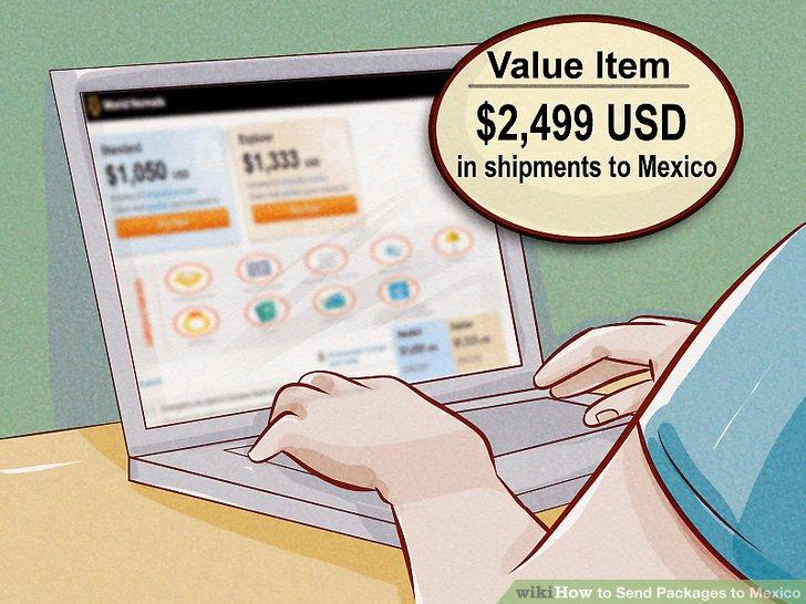 Überprüfen Sie den Wert Ihres Artikels anhand der Grenzwerte Ihres Spediteurs.