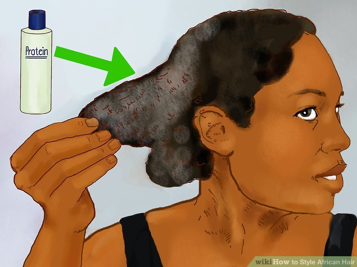4 Ways To Style African Hair WikiHow