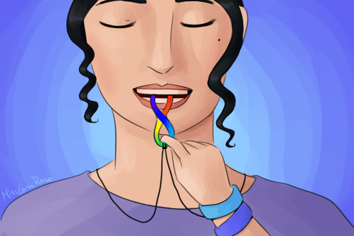 Woman Chews Autism Necklace.png