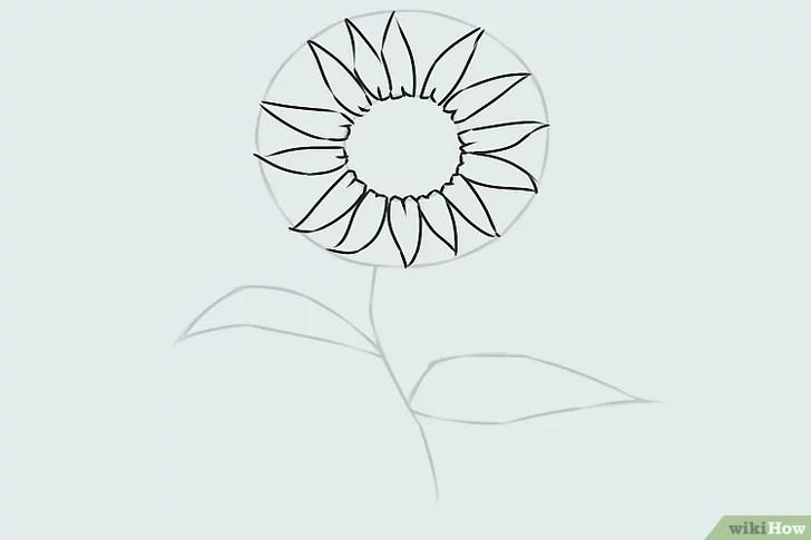 9 Cara untuk Menggambar Bunga - wikiHow