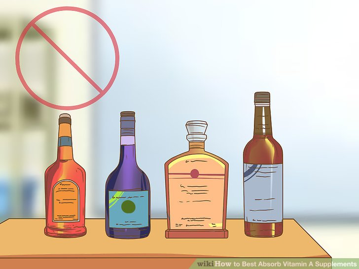 Drink less alcohol.