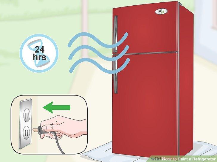 Kühlschrank Zierleiste : Wie man einen kühlschrank malt wieistesgemacht