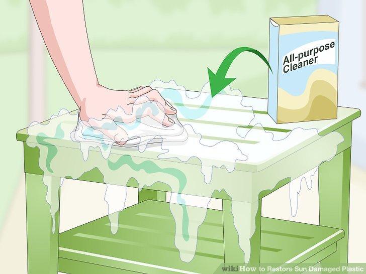 Verwenden Sie einen Allzweckreiniger, um hartnäckiges Fett zu entfernen.