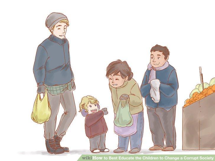 Setzen Sie Ihr Kind Menschen aus allen Lebensbereichen aus.