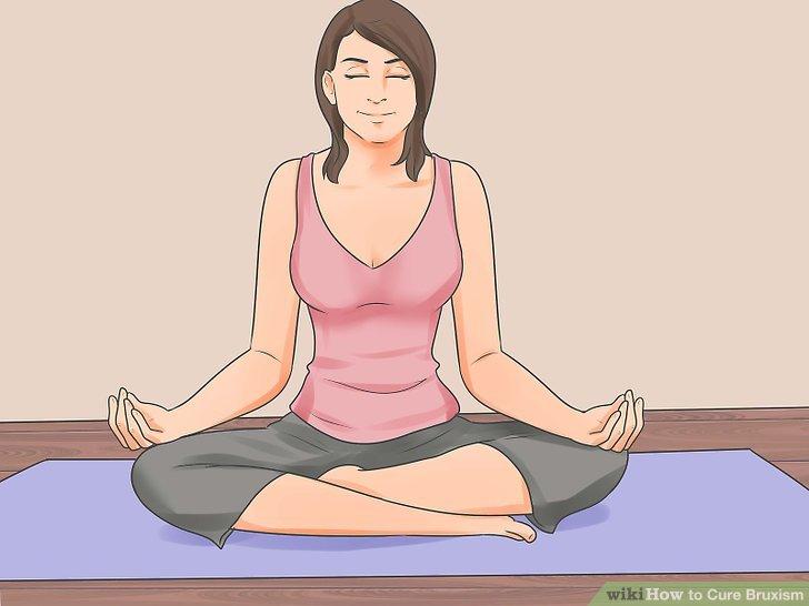 Betrachten Sie vor dem Schlafengehen zu meditieren.