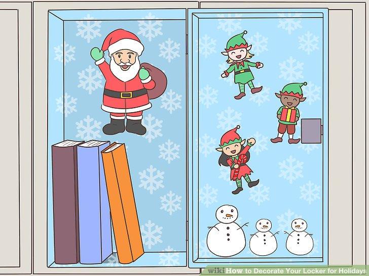 Christmas Locker Decorations