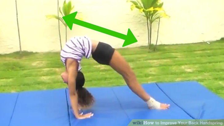 Stretch für mehr Flexibilität.