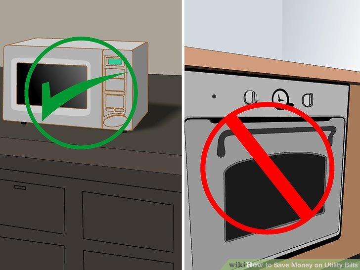 Think about your appliance use when cooking.
